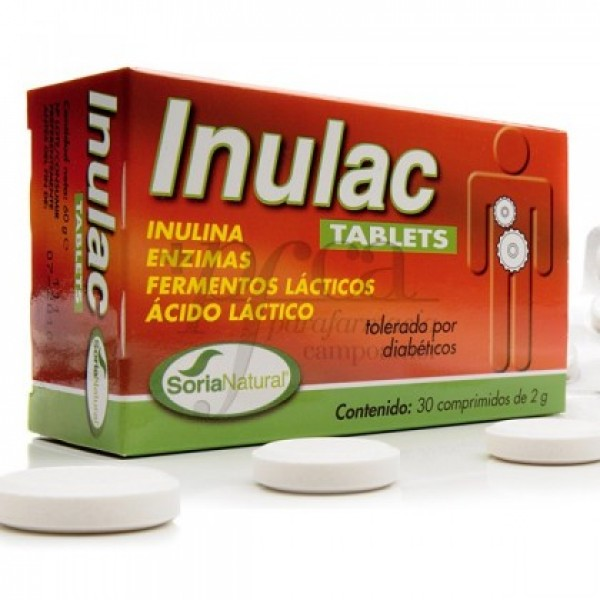INULAC TABLETS 30 COMPS